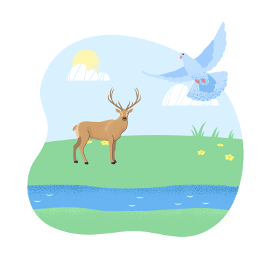 style Wildlife images in PNG and SVG | Icons8 Illustrations
