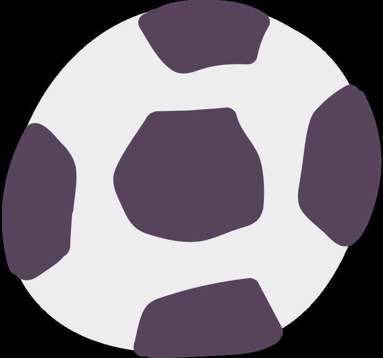 fußball Clipart-Grafik als PNG, SVG