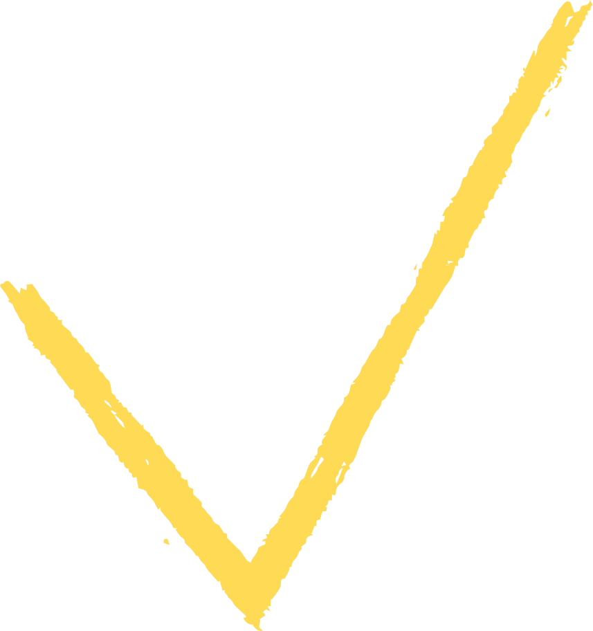 checkmark yellow Clipart illustration in PNG, SVG