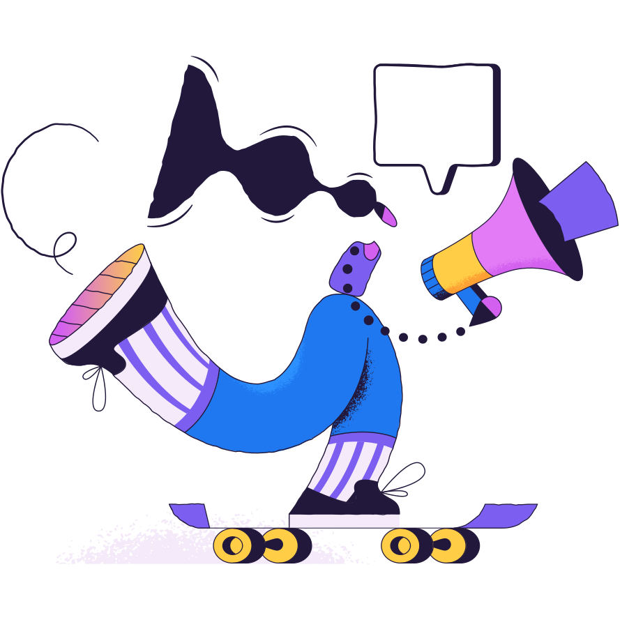 Skateboard Clipart illustration in PNG, SVG