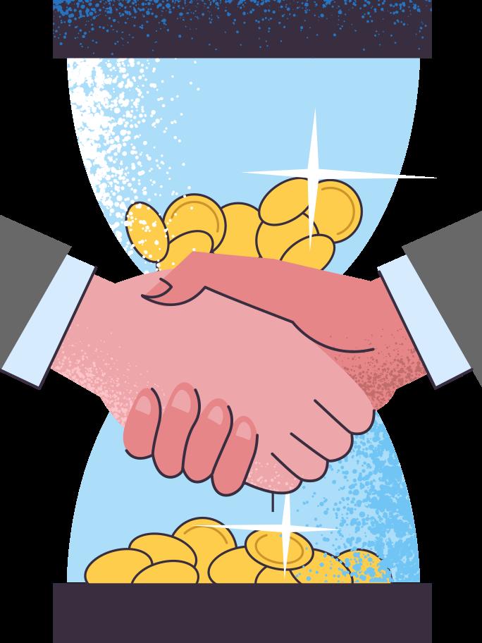 Deal Clipart illustration in PNG, SVG