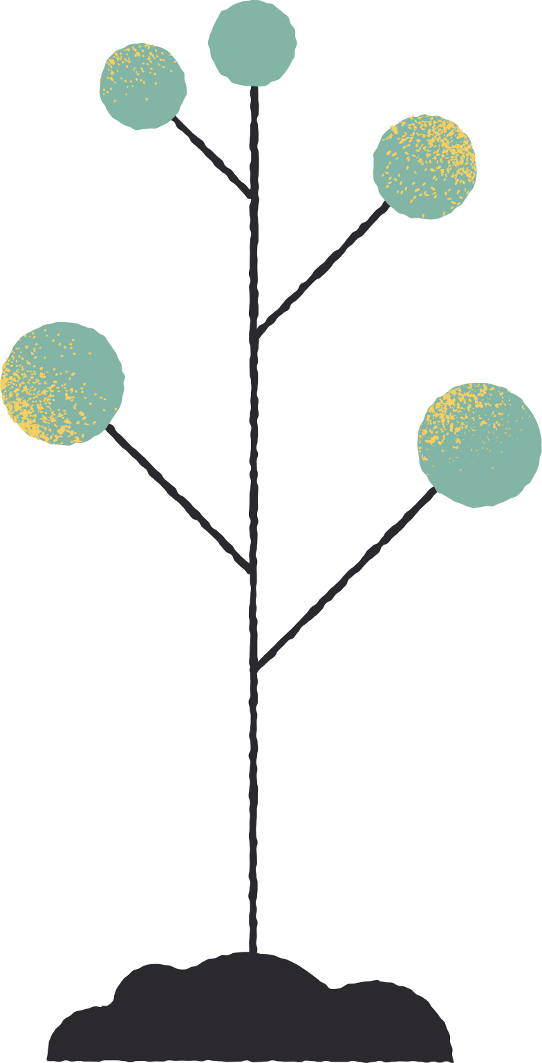small tree Clipart illustration in PNG, SVG