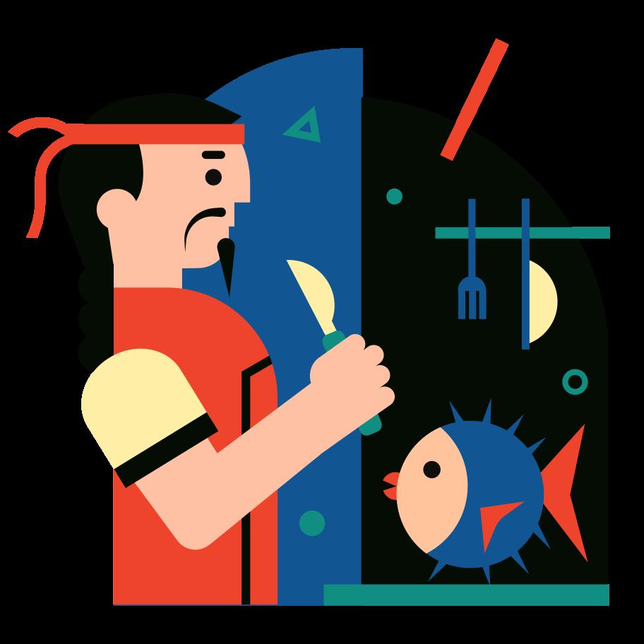 Japanese cuisine Clipart illustration in PNG, SVG