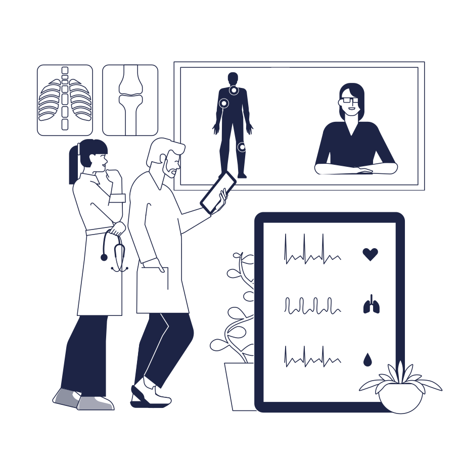 style Medical Online Consultation Vector images in PNG and SVG | Icons8 Illustrations
