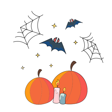 style Halloween decoration images in PNG and SVG | Icons8 Illustrations