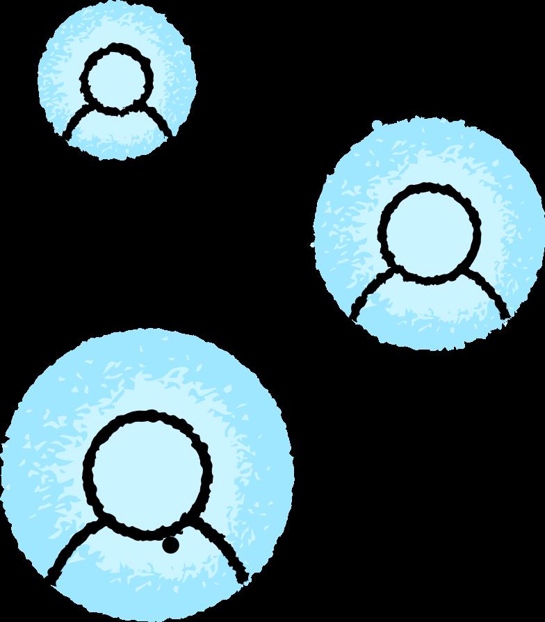 Ilustración de clipart de Red en PNG, SVG