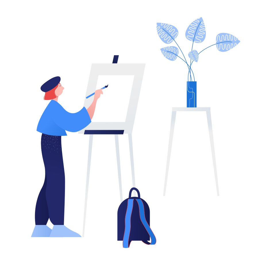 Drawing lessons Clipart illustration in PNG, SVG