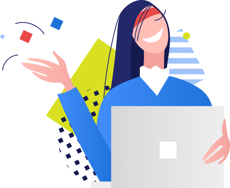 style woman with laptop Vector images in PNG and SVG | Icons8 Illustrations