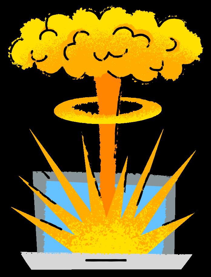치명적 오류 Clipart illustration in PNG, SVG