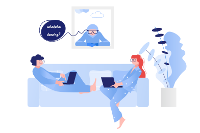 style Couple on quarantine images in PNG and SVG | Icons8 Illustrations
