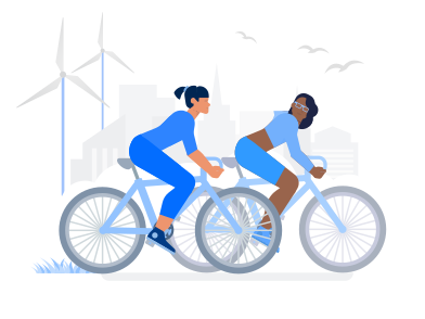 style Eco City images in PNG and SVG | Icons8 Illustrations