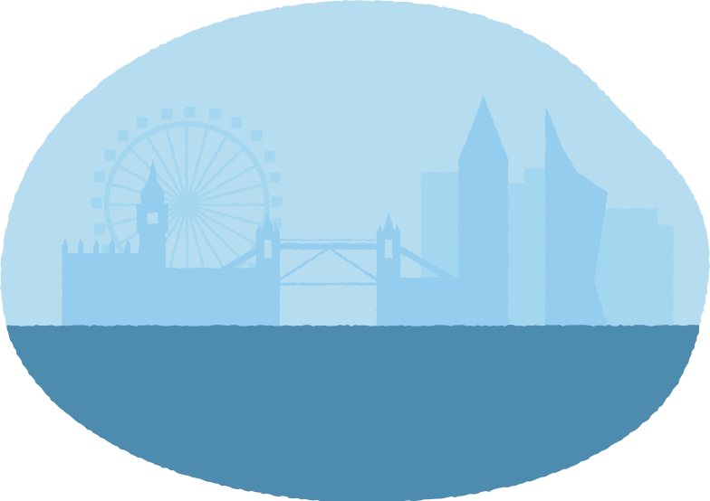 river town Clipart illustration in PNG, SVG