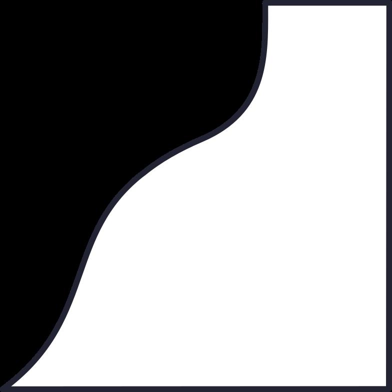 coffee break  shape Clipart-Grafik als PNG, SVG
