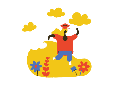style Girl received higher education  images in PNG and SVG | Icons8 Illustrations