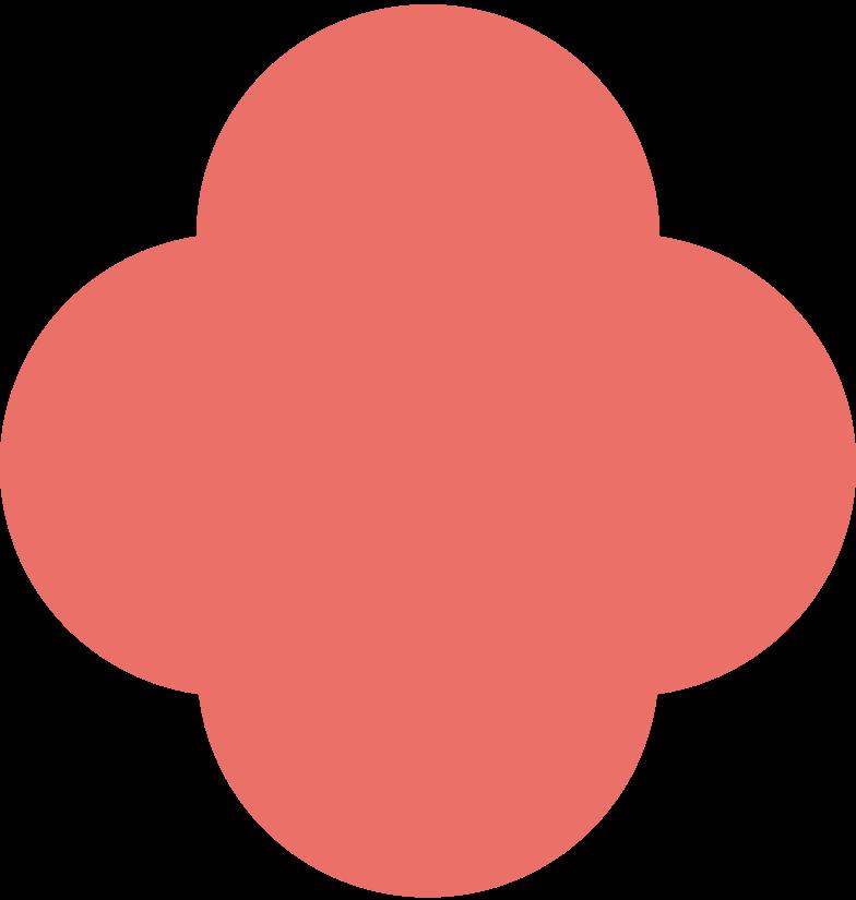 quatrefoil pink antique Clipart illustration in PNG, SVG