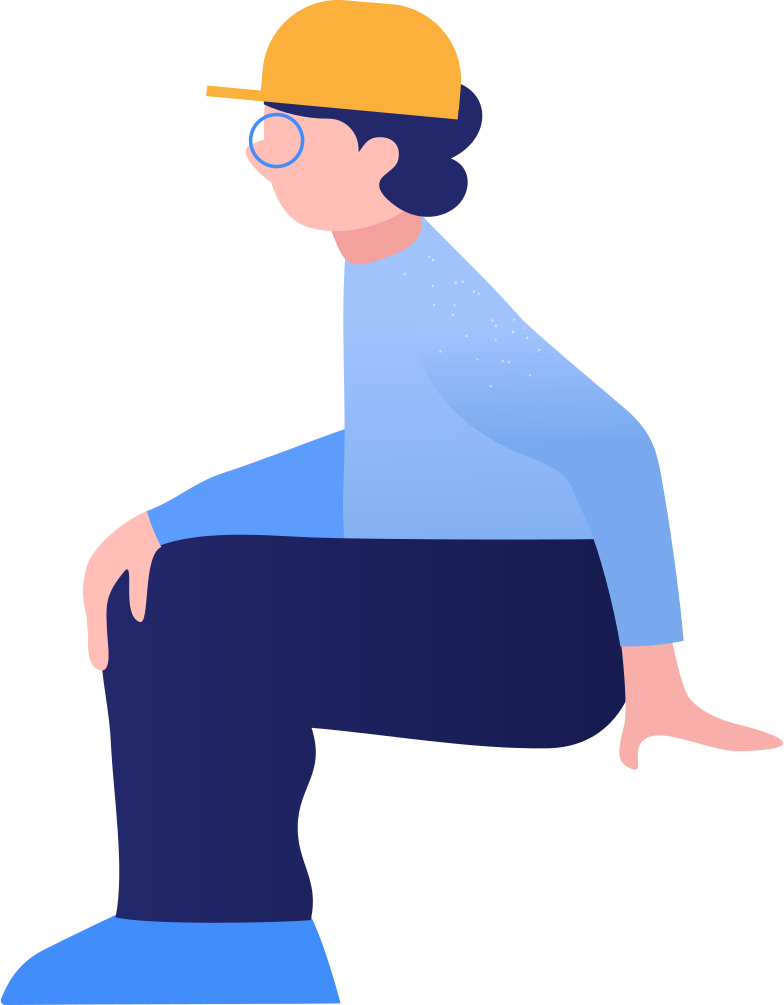boy sitting Clipart illustration in PNG, SVG