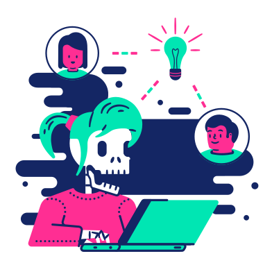style Work collaboration images in PNG and SVG | Icons8 Illustrations