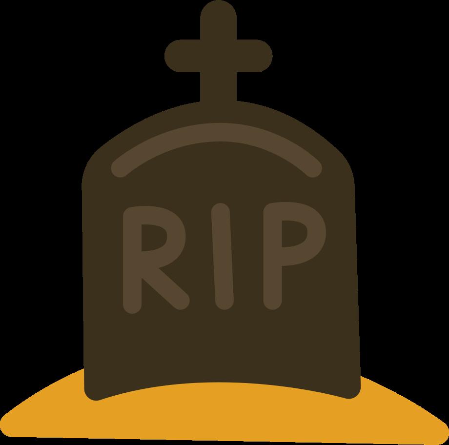 gravestone Clipart illustration in PNG, SVG
