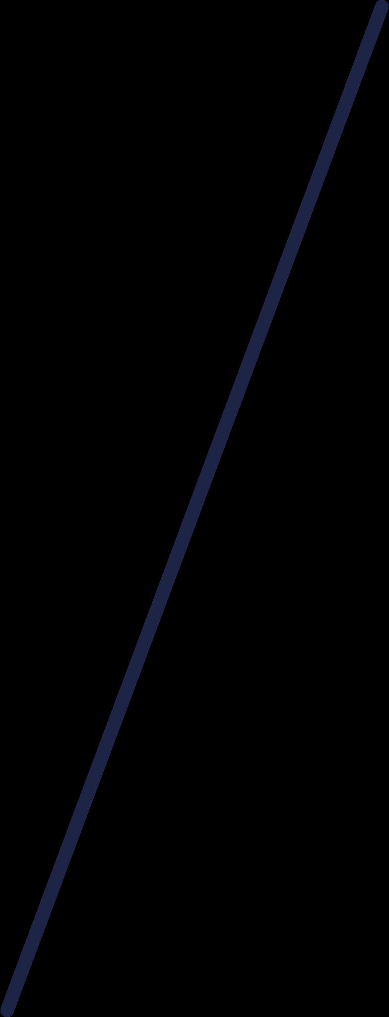 deltaplane rod 1 line Clipart illustration in PNG, SVG