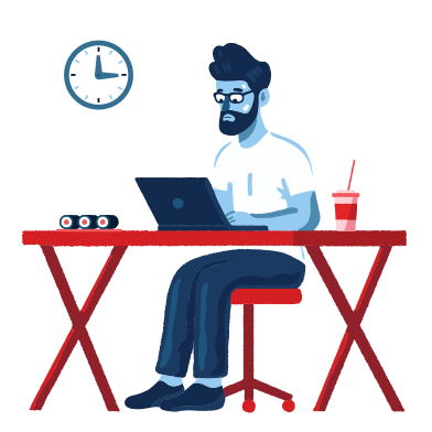 style Lunch at work images in PNG and SVG | Icons8 Illustrations