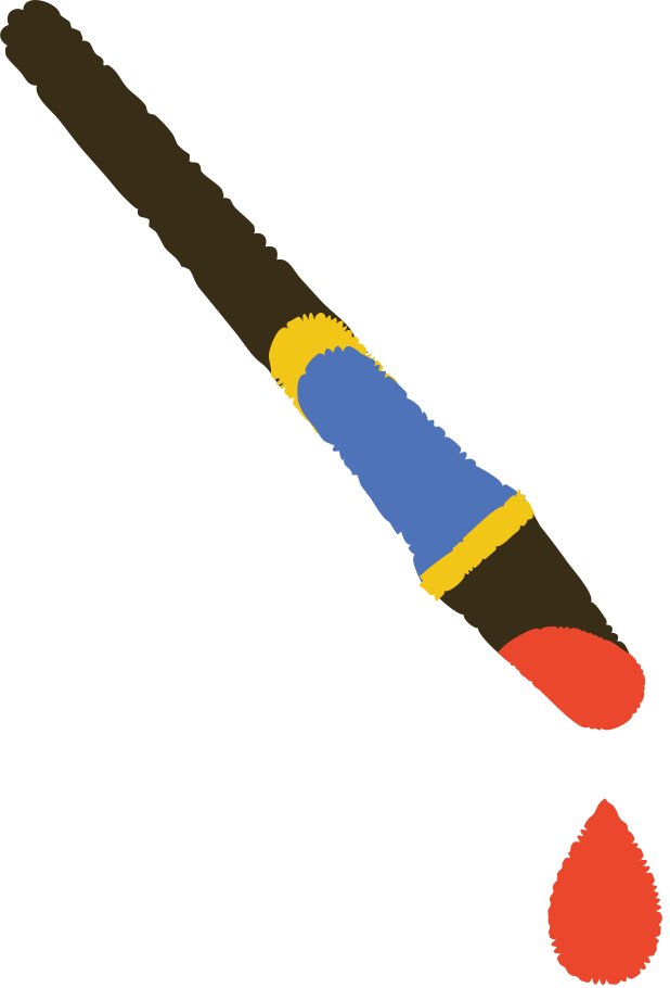 paint brush Clipart illustration in PNG, SVG