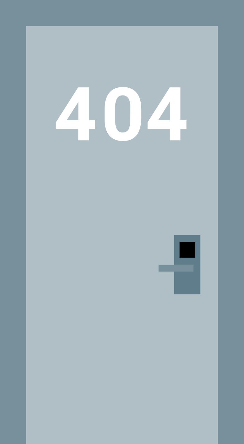 404 door Clipart illustration in PNG, SVG