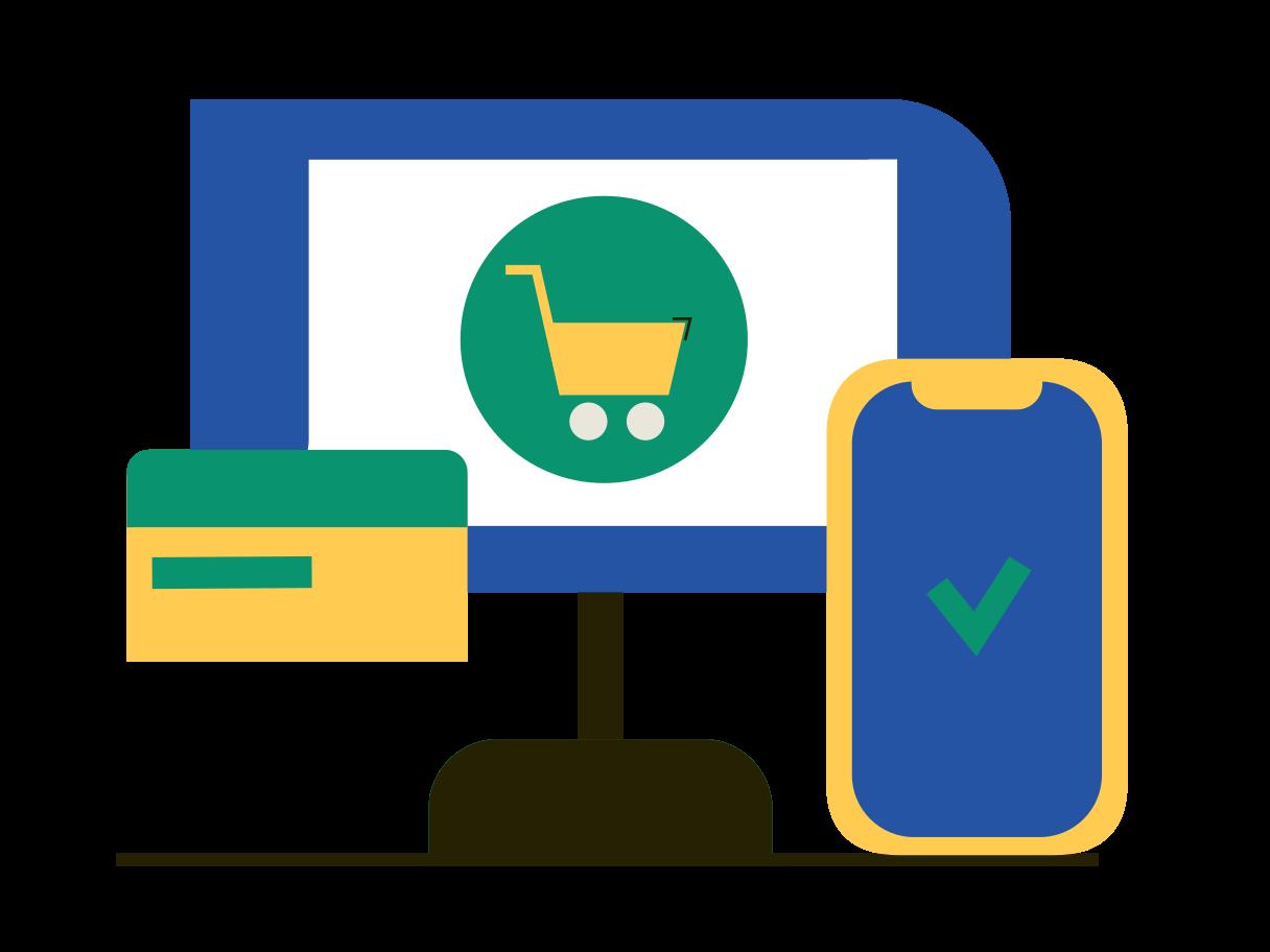 Online order Clipart illustration in PNG, SVG
