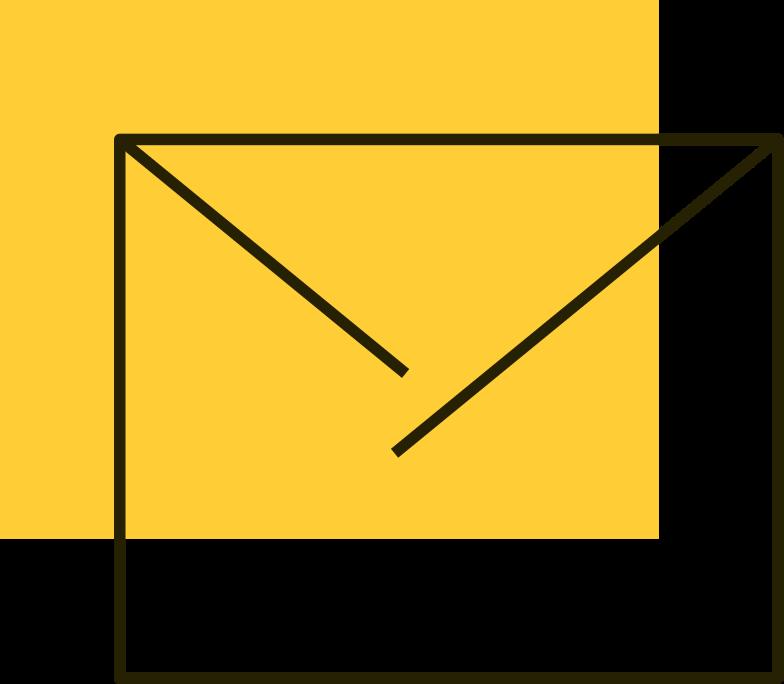gelber buchstabe Clipart-Grafik als PNG, SVG