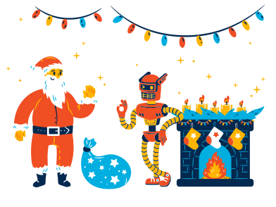 style Santa is here images in PNG and SVG   Icons8 Illustrations