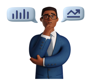 Иллюстрация Бизнес-статистика в стиле  в PNG и SVG | Icons8 Иллюстрации