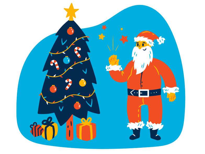 style Merry Christmas! Vector images in PNG and SVG | Icons8 Illustrations