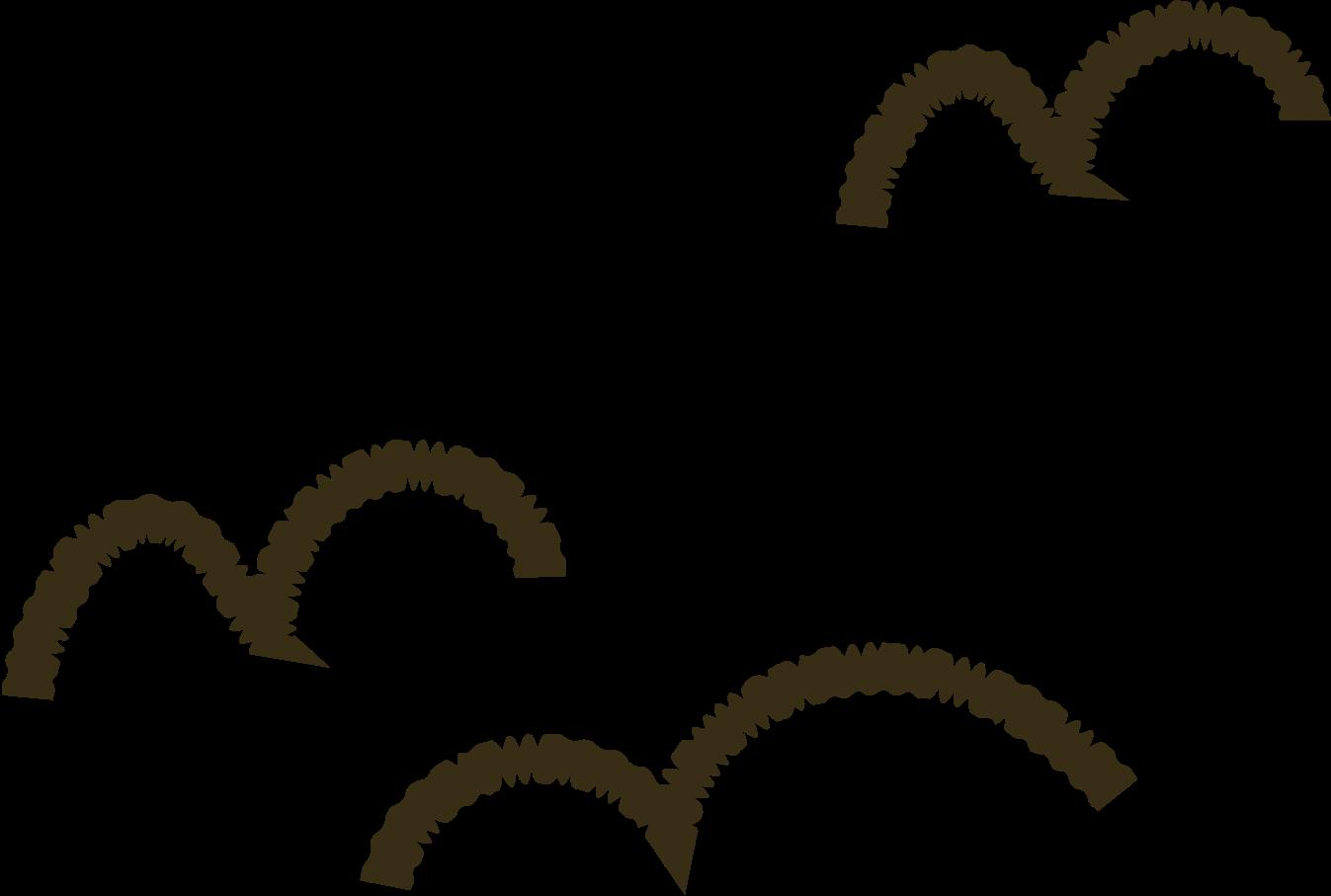 flying birds Clipart illustration in PNG, SVG