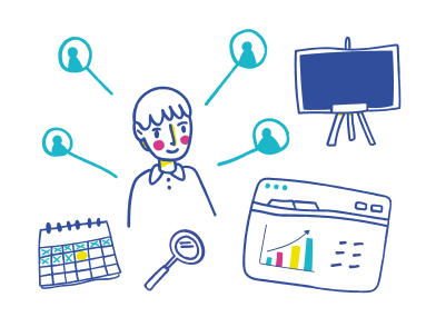 style Online business meeting images in PNG and SVG | Icons8 Illustrations