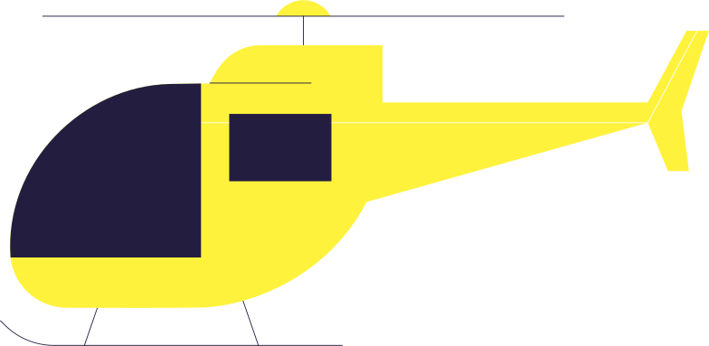 helicopter Clipart illustration in PNG, SVG