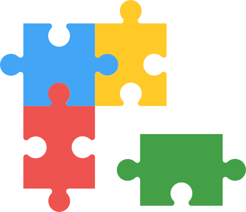 style puzzle wrong piese Vector images in PNG and SVG | Icons8 Illustrations