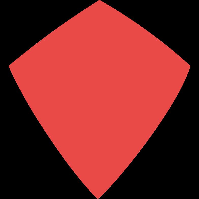 Drachen rot Clipart-Grafik als PNG, SVG