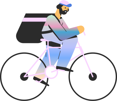 style man on bike images in PNG and SVG | Icons8 Illustrations