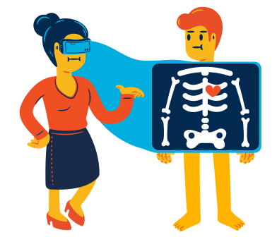 style VR x-ray images in PNG and SVG | Icons8 Illustrations