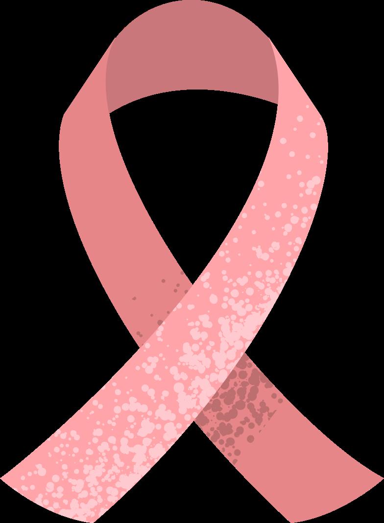 cancer ribbon Clipart illustration in PNG, SVG