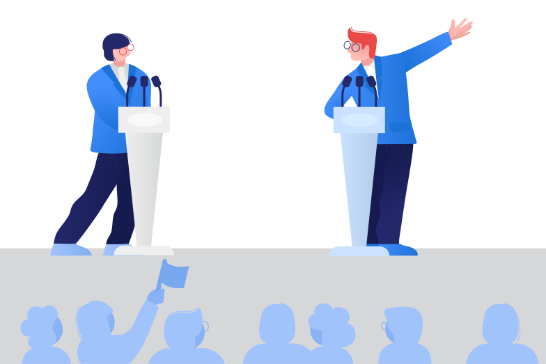 style Political debates Vector images in PNG and SVG | Icons8 Illustrations