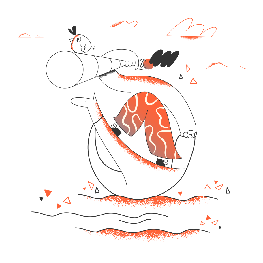 Traveling the sea Clipart illustration in PNG, SVG