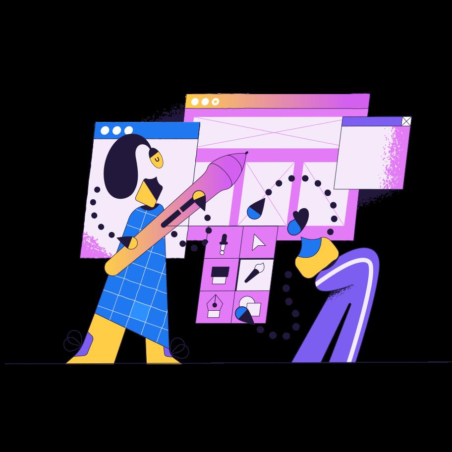Imágenes vectoriales Diseño en PNG y SVG estilo  | Ilustraciones Icons8