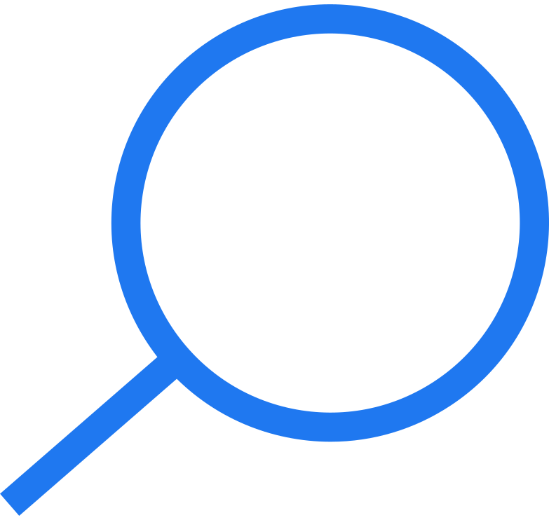 searching  magnifying glass Clipart illustration in PNG, SVG