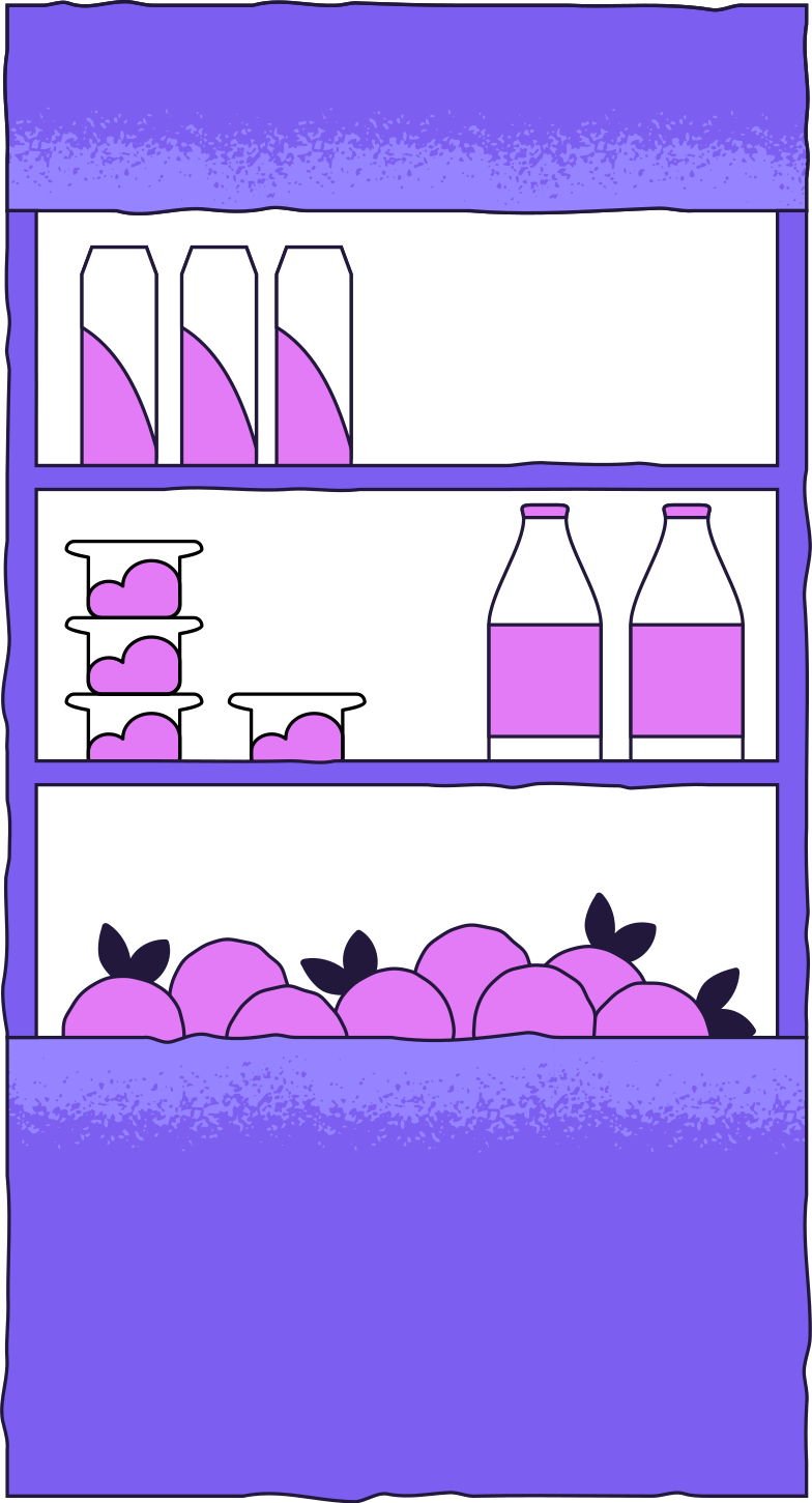 store shelf Clipart illustration in PNG, SVG