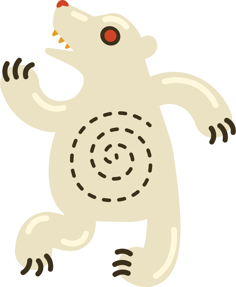style polar bear Vector images in PNG and SVG | Icons8 Illustrations